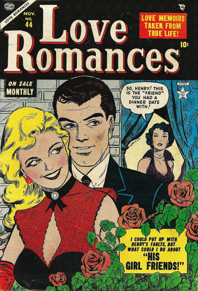Cover for Love Romances (Marvel, 1949 series) #44