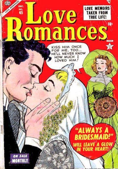 Cover for Love Romances (Marvel, 1949 series) #45
