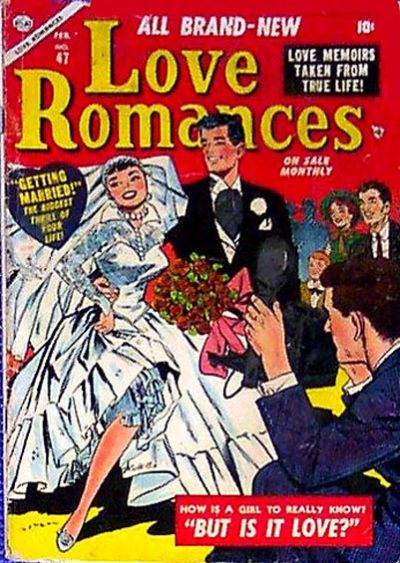 Cover for Love Romances (Marvel, 1949 series) #47
