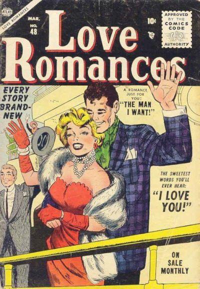 Cover for Love Romances (Marvel, 1949 series) #48