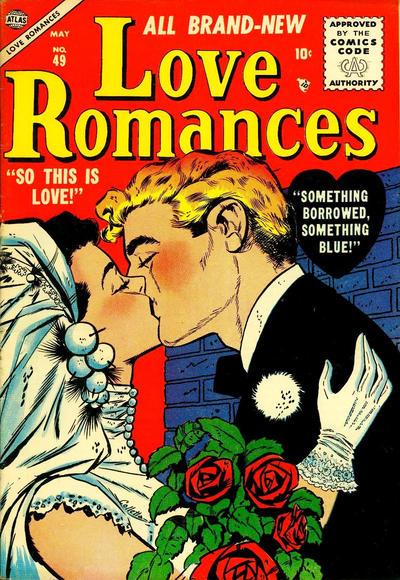 Cover for Love Romances (Marvel, 1949 series) #49