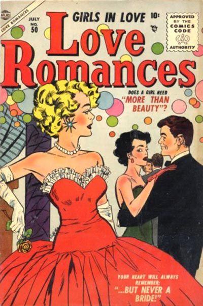 Cover for Love Romances (Marvel, 1949 series) #50