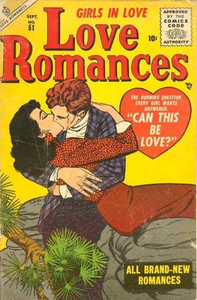 Cover for Love Romances (Marvel, 1949 series) #51