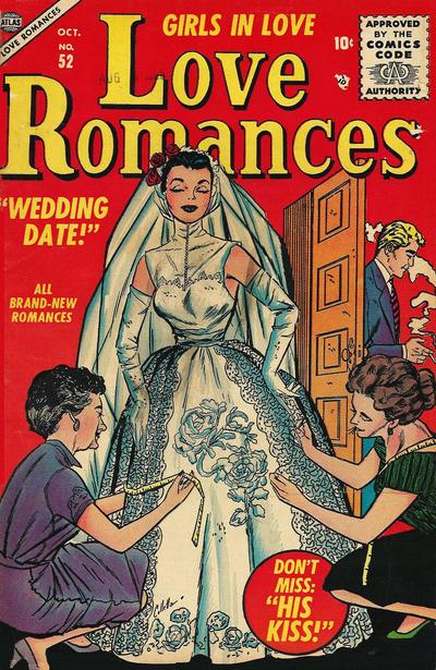 Cover for Love Romances (Marvel, 1949 series) #52