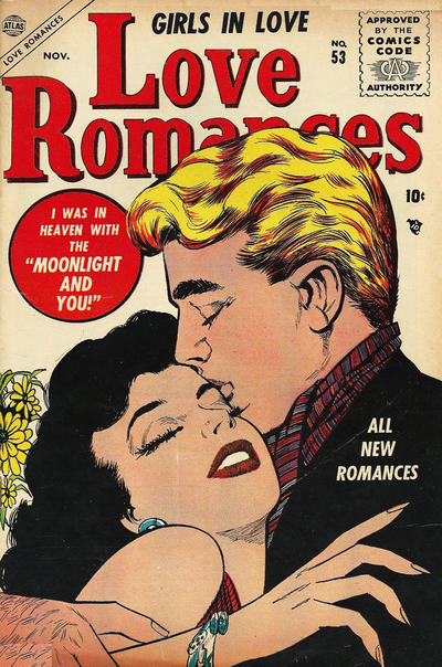 Cover for Love Romances (Marvel, 1949 series) #53