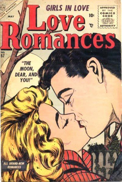 Cover for Love Romances (Marvel, 1949 series) #57