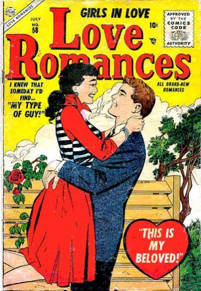 Cover for Love Romances (Marvel, 1949 series) #58