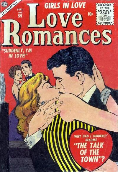 Cover for Love Romances (Marvel, 1949 series) #59
