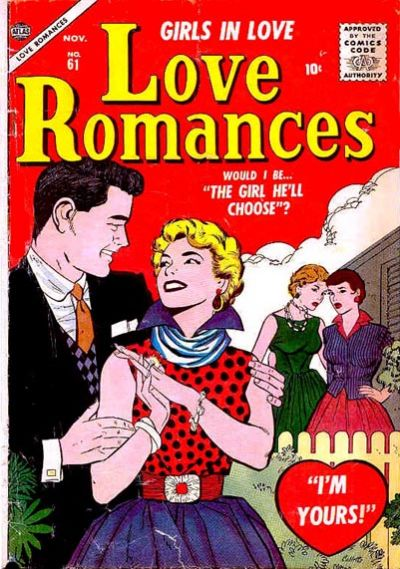 Cover for Love Romances (Marvel, 1949 series) #61