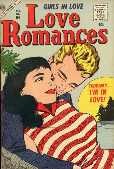 Cover for Love Romances (Marvel, 1949 series) #64