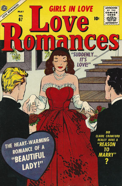 Cover for Love Romances (Marvel, 1949 series) #67