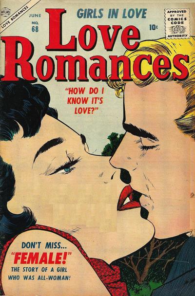 Cover for Love Romances (Marvel, 1949 series) #68