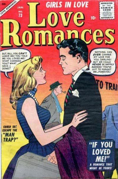 Cover for Love Romances (Marvel, 1949 series) #73