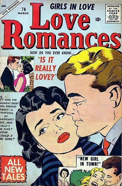 Cover for Love Romances (Marvel, 1949 series) #74