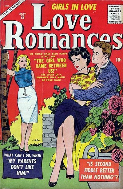 Cover for Love Romances (Marvel, 1949 series) #75