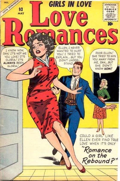 Cover for Love Romances (Marvel, 1949 series) #93