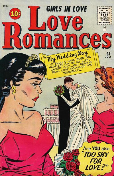 Cover for Love Romances (Marvel, 1949 series) #94