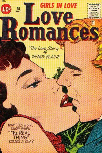 Cover for Love Romances (Marvel, 1949 series) #95