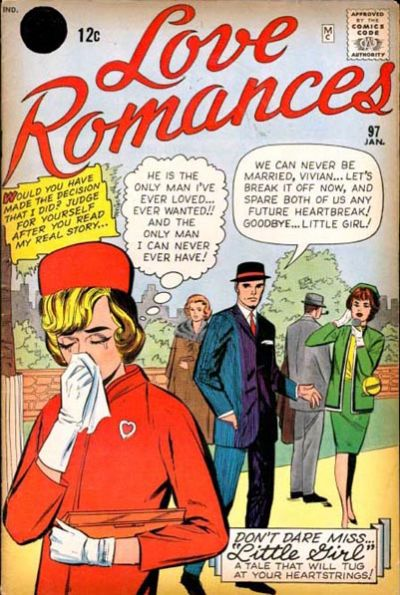 Cover for Love Romances (Marvel, 1949 series) #97