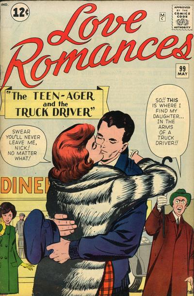 Cover for Love Romances (Marvel, 1949 series) #99