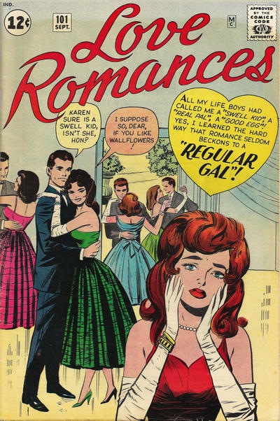 Cover for Love Romances (Marvel, 1949 series) #101
