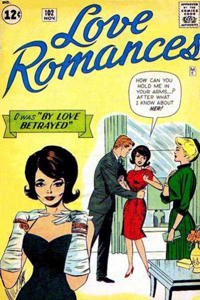 Cover for Love Romances (Marvel, 1949 series) #102