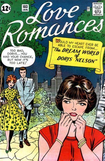 Cover for Love Romances (Marvel, 1949 series) #103