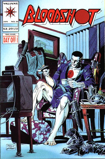 Cover for Bloodshot (Acclaim / Valiant, 1993 series) #12