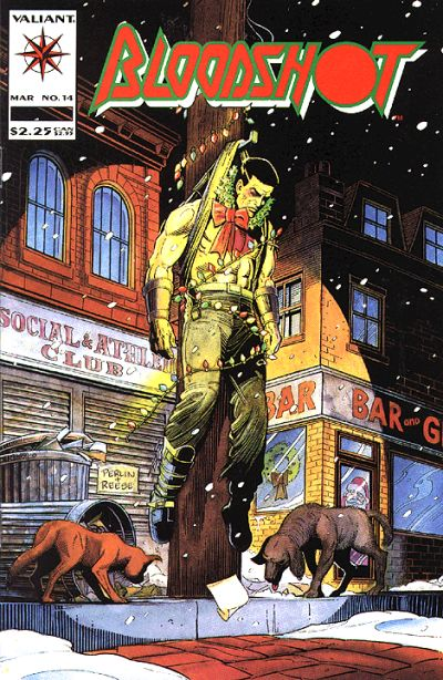 Cover for Bloodshot (Acclaim / Valiant, 1993 series) #14