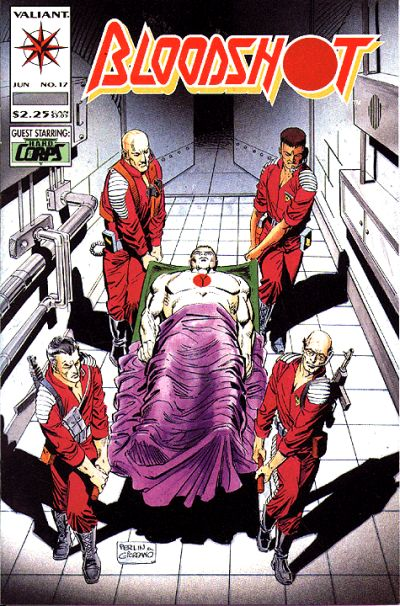 Cover for Bloodshot (Acclaim / Valiant, 1993 series) #17