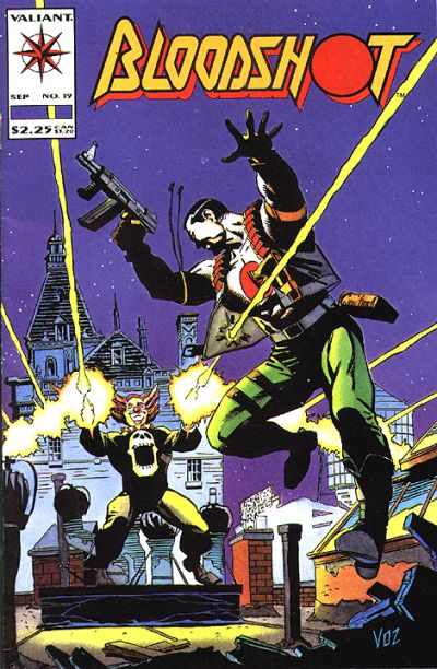 Cover for Bloodshot (Acclaim / Valiant, 1993 series) #19