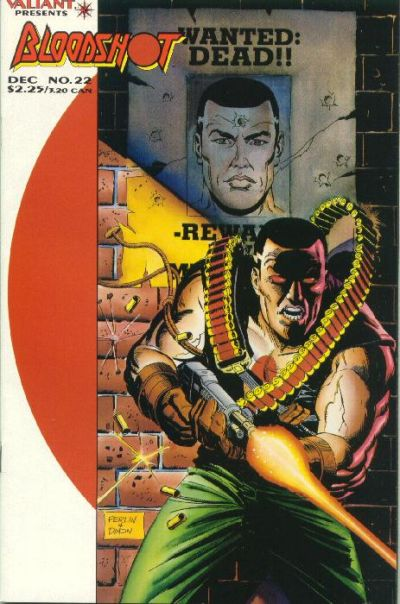 Cover for Bloodshot (Acclaim / Valiant, 1993 series) #22