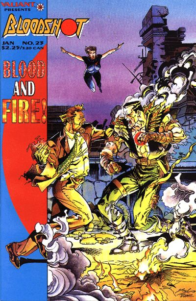 Cover for Bloodshot (Acclaim / Valiant, 1993 series) #23