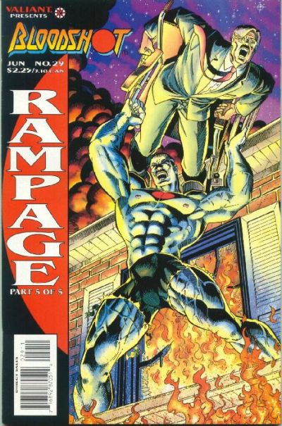 Cover for Bloodshot (Acclaim / Valiant, 1993 series) #29