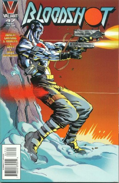 Cover for Bloodshot (Acclaim / Valiant, 1993 series) #47 [Direct Edition]
