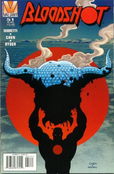 Cover for Bloodshot (Acclaim / Valiant, 1993 series) #51 [Direct Edition]