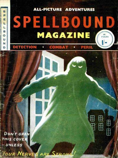 Cover for Spellbound Magazine (Cartoon Art, 1954 series) #[nn]