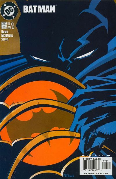 Cover for Batman (DC, 1940 series) #575