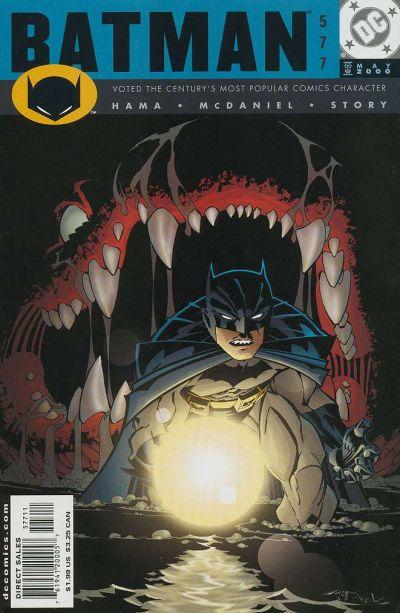 Cover for Batman (DC, 1940 series) #577