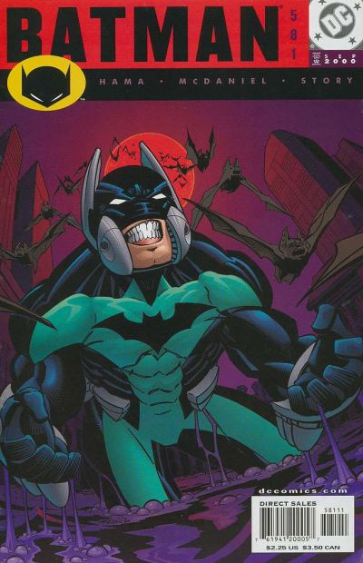 Cover for Batman (DC, 1940 series) #581