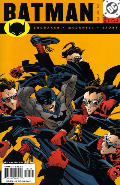 Cover for Batman (DC, 1940 series) #583
