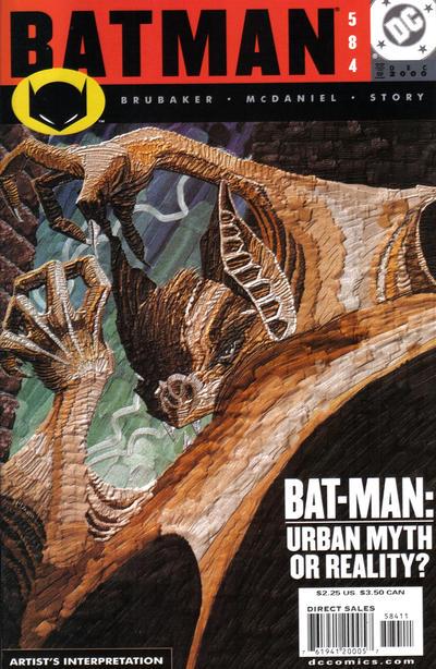Cover for Batman (DC, 1940 series) #584