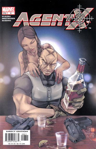 Cover for Agent X (Marvel, 2002 series) #8
