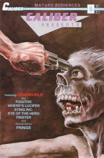 Cover for Caliber Presents (Caliber Press, 1989 series) #8
