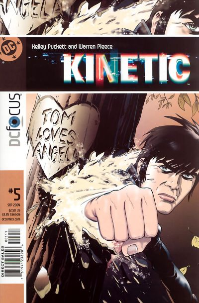 Cover for Kinetic (DC, 2004 series) #5