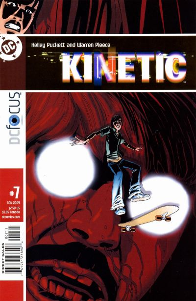 Cover for Kinetic (DC, 2004 series) #7