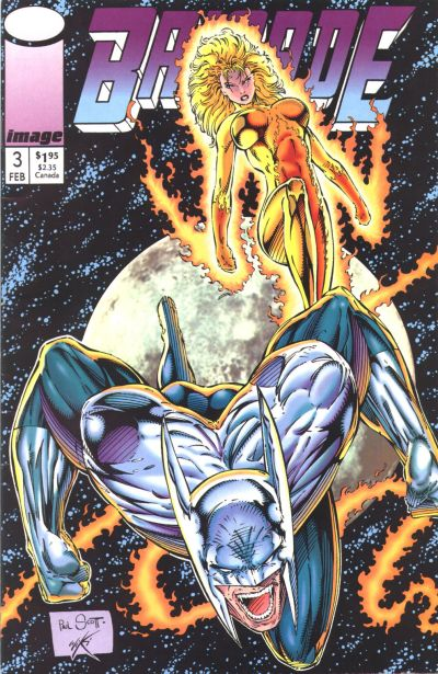 Cover for Brigade (Image, 1992 series) #3 [Direct Edition]