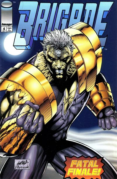 Cover for Brigade (Image, 1992 series) #4