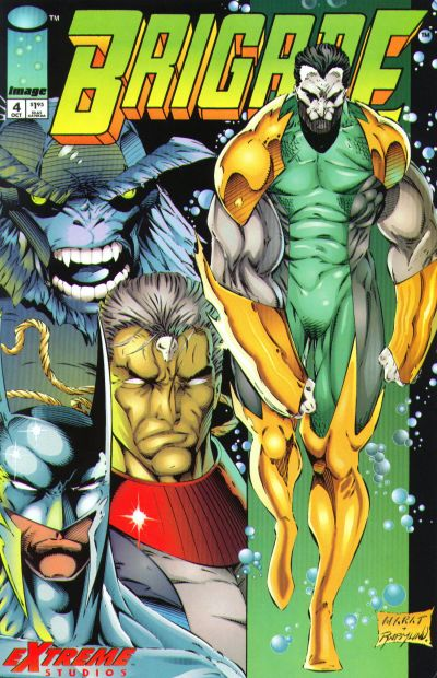 Cover for Brigade (Image, 1993 series) #4 [Direct Edition]