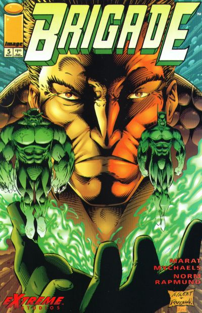 Cover for Brigade (Image, 1993 series) #5 [Direct Edition]
